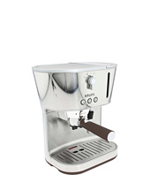 Krups - XP4600 Silver Art Espresso with Precise Tamp