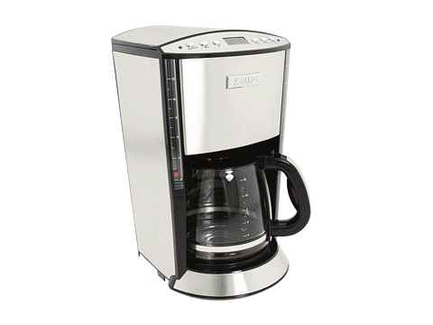 Krups 12 Cup Glass Filter Coffee Maker Shipped Free at Zappos