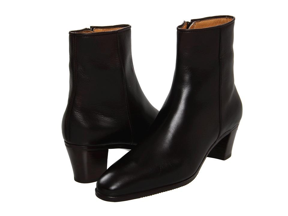 Gravati Leather Ankle Boot (Black) Women's Dress Zip Boots