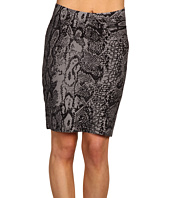 BCBGMAXAZRIA - Full Needle Power Skirt w/Print