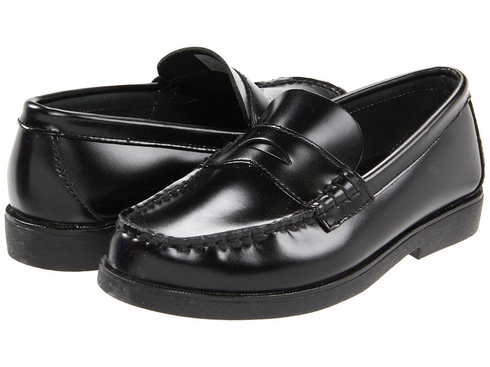 Sperry Kids Colton Little Kid Black Brush Off Boys Shoes