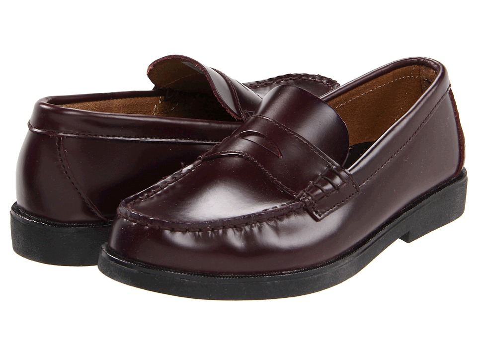 Sperry Kids Colton Little Kid Burgundy Brush Off Boys Shoes