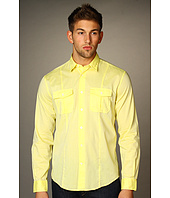 John Varvatos - L/S Chest Pocket Stiched Seam Shirt