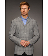 John Varvatos - Convertible Notch Collar Jacket w/ Flap Pockets