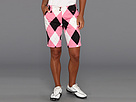 Loudmouth Golf Pink Black Short