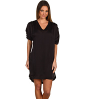 Diesel Black Gold - Silk Bubble Sleeve Dress