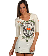 Affliction - Live Fast Free 3/4 V-Neck