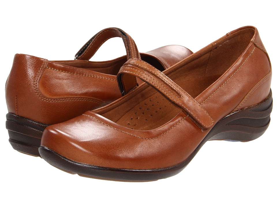 Hush Puppies Epic Mary Jane Tan Leather Womens Maryjane Shoes