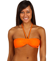 Roxy - Native Sky Shirred Bandeau Top