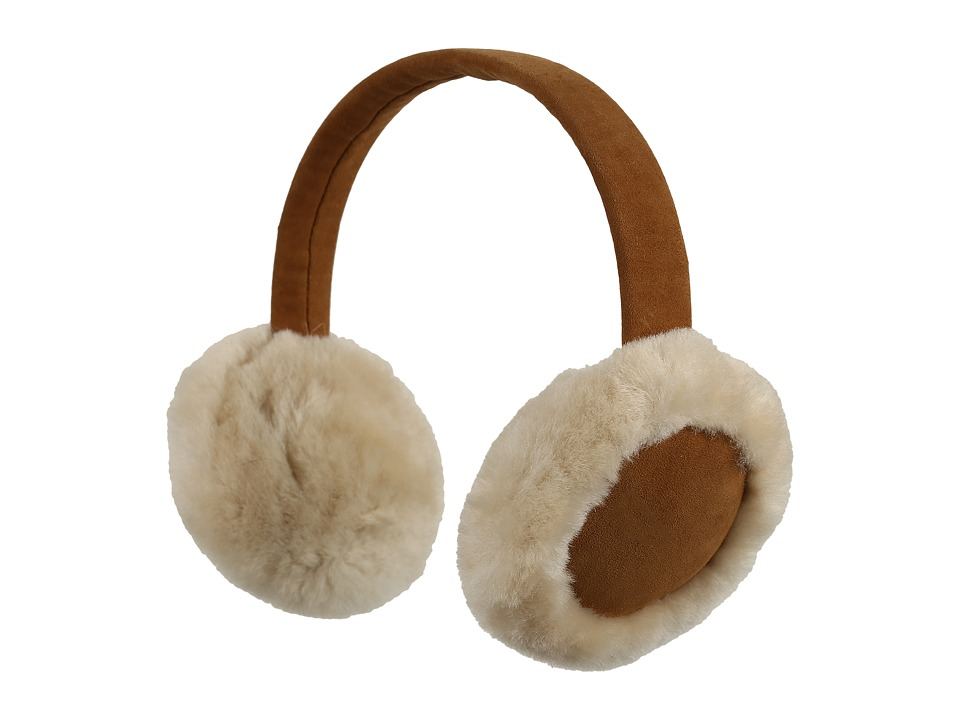 UGG Kids Classic Earmuff Toddler/Little Kids Chestnut Knit Hats