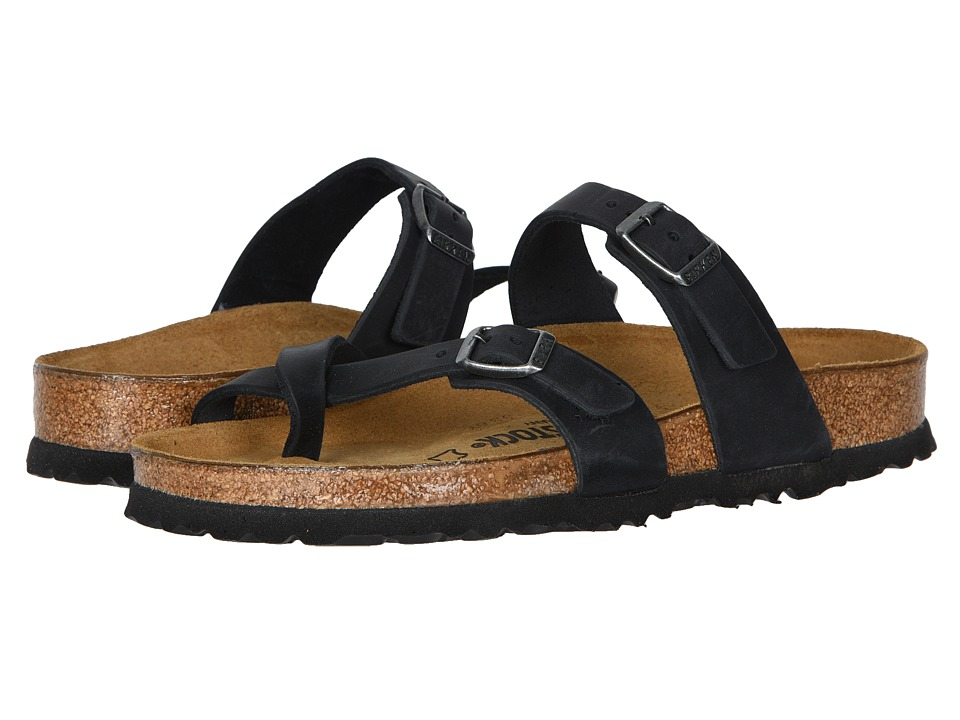 Birkenstock Mayari (Black Oiled Leather) Women