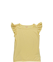 Three Little Dots Kids - S/L Ruffle Top (Big Kids)