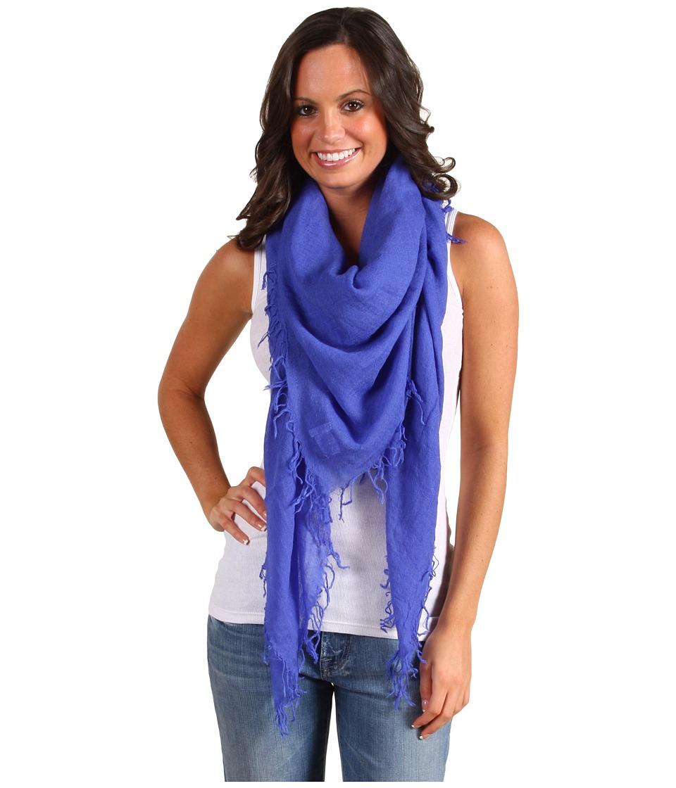 CHAN LUU Cashmere and Silk Scarf (Baja Blue) Scarves
