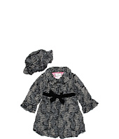 Widgeon Kids - Big Bow Coat & Hat Set (Toddler/Little Kids/Big Kids)
