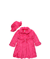 Widgeon Kids - Textured Wave Coat & Hat Set (Toddler/Little Kids/Big Kids)