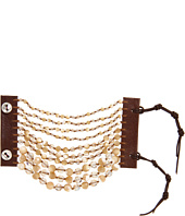 Chan Luu - Natural MOP & Crystal Mix Beaded Cuff