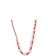 Chan Luu - Pink Muted Clay Beaded Long Threaded Necklace