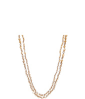 Chan Luu - Natural MOP and Crystal Mix Double Strand Necklace