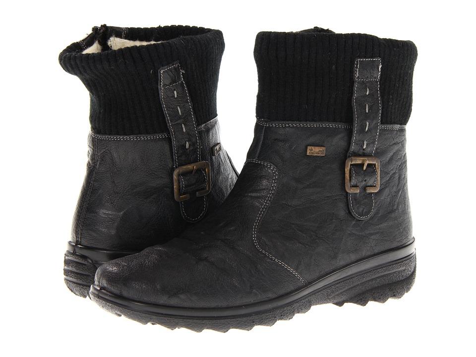 Rieker Z7054 Hillary 54 (Black) Women's Shoes