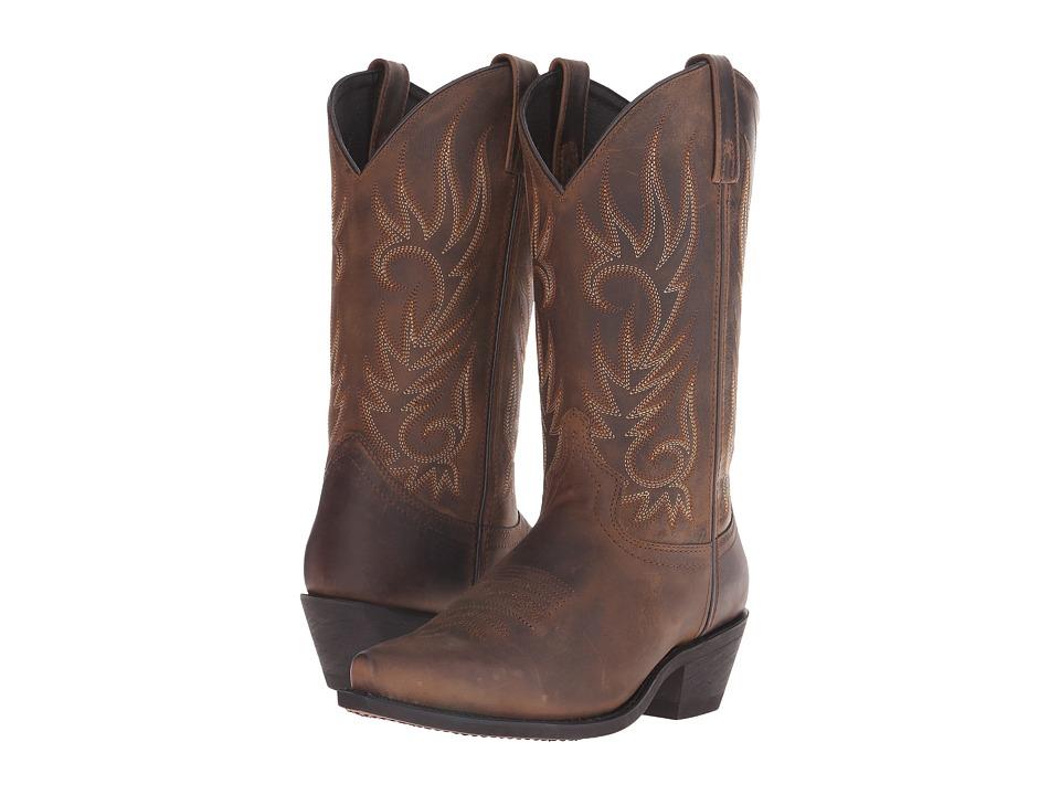 Laredo - Willow Creek (Tan Crazyhorse) Cowboy Boots