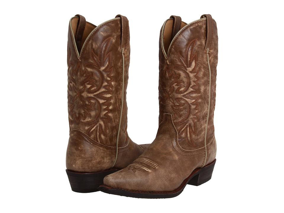 Dingo Wyldwood Tan/Tan Crackle Goat Cowboy Boots