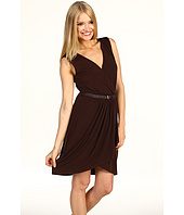 Max and Cleo - Daniel Belted Jersey Dress