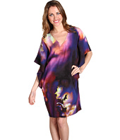 Nicole Miller - Vibrant Cloud Reversible Stretch Dress