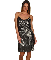 Nicole Miller - Foiled Cupro Dress