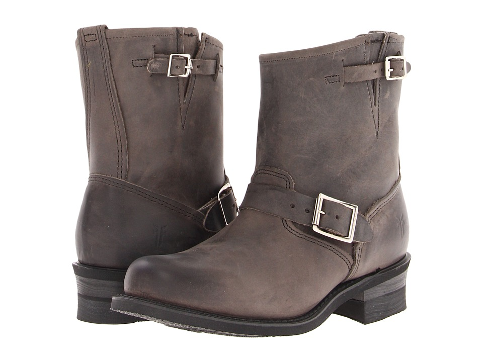 Frye Engineer 8R (Charcoal Old Town) Women's Pull-on Boots