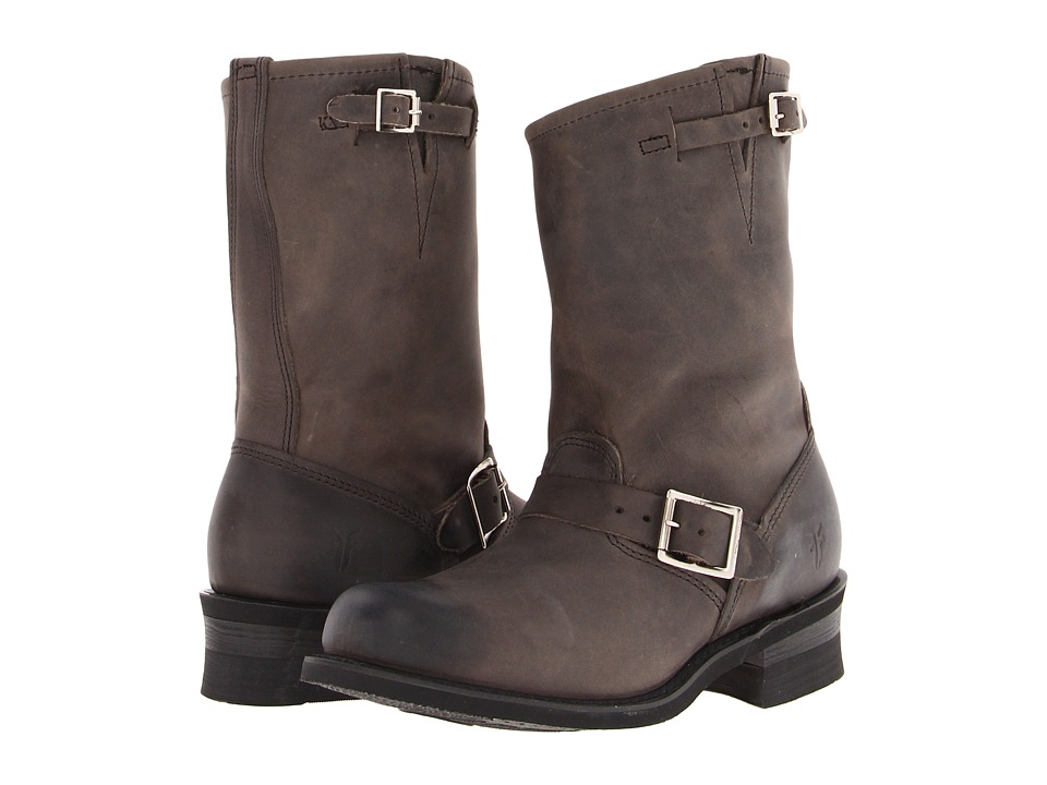 Frye Engineer 12R (Charcoal Old Town) Women's Pull-on Boots