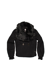 Juicy Couture Kids - Fur Collar Jacket (Toddler/Little Kids/Big Kids)