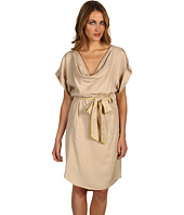 Vince Camuto - Drape Neck Belted Dress VC2D1141