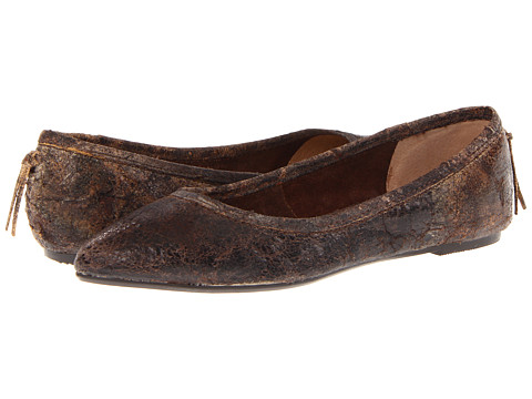 Shop Frye online and buy Frye Regina Ballet Chocolate Glazed Vintage Leather Shoes - Frye - Regina Ballet (Chocolate Glazed Vintage Leather) - Footwear: Multiple color choices and simple style make this flat anything but unoriginal. ; Soft, supple leather upper. ; Luxurious leather lining. ; Cushioned leather footbed for all-day comfort. ; Lightweight rubber outsole. Measurements: ; Weight: 6 oz ; Product measurements were taken using size 8.5, width B - Medium. Please note that measurements may vary by size.