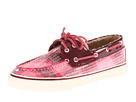 Sperry Top-Sider - Bahama 2-Eye (Rose Plaid Sequins/Cordovan (Teddy))