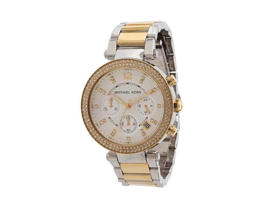 Michael Kors - MK5626 - Sport Parker Chronograph (Gold/Silver) Analog Watches