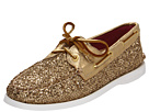 Sperry Top-Sider - A/O 2 Eye (Gold Glitter/Patent)