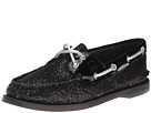 Sperry Top-Sider - A/O 2 Eye (Black Glitter/Patent)