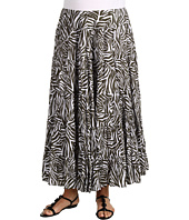 Jones New York - Plus Size Broomsticked Tiered Clean Skirt