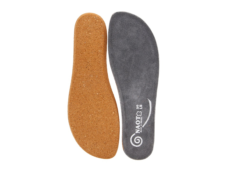 Naot Footwear FB19 Koru Replacement Footbed Grey Womens Insoles Accessories Shoes