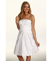 Eliza J - Taffeta Strapless w/Bubble Hem Dress