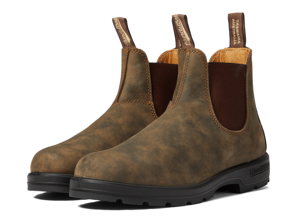Blundstone BL585 (Rustic Brown) Work Boots
