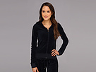 Juicy Couture - Original Velour L/S Hoodie (Regal) - Apparel