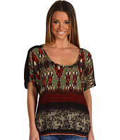 DEPT - Ikat Viscose Top