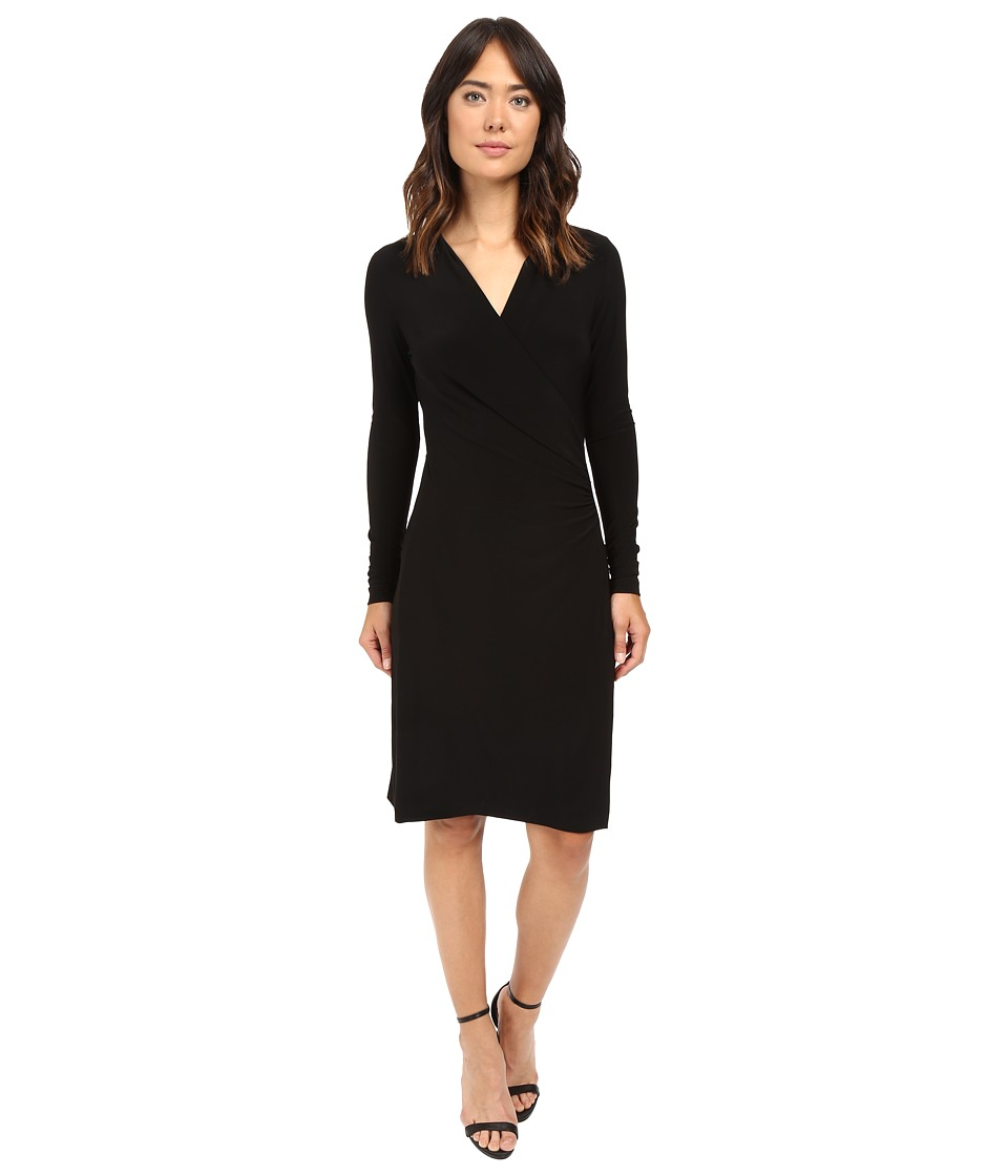 KAMALIKULTURE by Norma Kamali - L/S Side Draped Dress