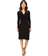 KAMALIKULTURE - L/S Side Draped Dress