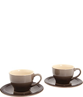 Le Creuset - Cappuccino Cups and Saucers - Set of 2
