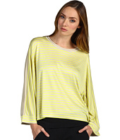adidas by Stella McCartney - Yoga Striped Tee Z01477
