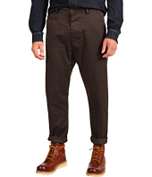 Vivienne Westwood MAN - MAN Brushed Cotton Gabardine Low Crotch Trouser