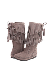 Minnetonka - Calf Hi 2-Layer Fringe Boot