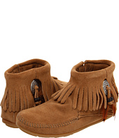 Minnetonka - Concho/Feather Side Zip Boot